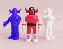 Luchador - Art Toy
