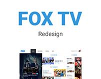 FOX TV Redesign