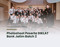 Photoshoot DIKLAT Bank JATIM 2021 Batch 2