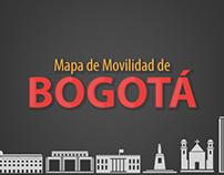 Mapa de Movilidad de Bogotá