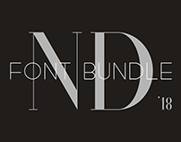 ND Font Bundle '18