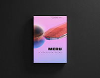 MERU - Color of infinity (book design)
