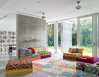 Lacau Residence by Upstairs Studio Architecture
