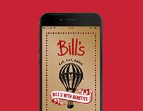 Bill's Restaurants – App