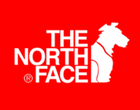Northface for Dogs (Conceptual) Branding & Advertising