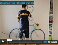 Chairman Ting - Bicycle Wall Art