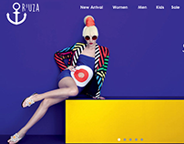 R'UZA  Online  Store         Web Design