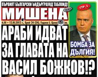 Mishena Tabloid Newspaper - issue 24/2012 - prepress