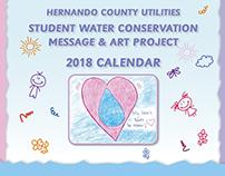 Hernando County Utilities Student Calendar Cover