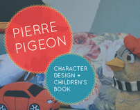 Pierre Pigeon Children's Book