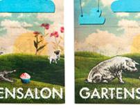 Gartensalon Poster / Flyer