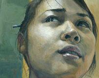 BIG HEADS Portrait Painting Series