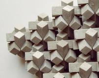 concrete mosaic 3D