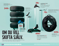 Volvo Tires merchandise campaign