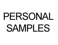 Personal samples