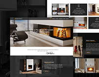 Domowe Ognisko (Installation of fireplaces) - Website