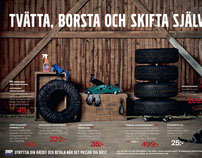 Volvo Tires. Merchandise campaign