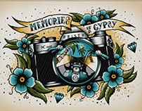 Memories Of A Gypsy Illustration