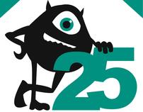 25th Pixar Anniversary