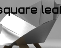 Square leaf