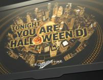 MILLER Halloween DJ
