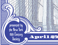 NY 19th Century Society Poster and Card