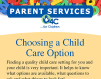 4C for Children Child Services Cards