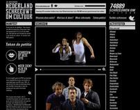 Nederland Schreeuwt Om Cultuur - Event website
