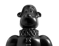 Black Dog Sculpture 5 William