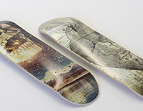 Upper & Lateral Content: Skateboard Decks