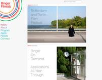 Binger Filmlab - Website