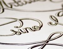 Script Typography - Rossi