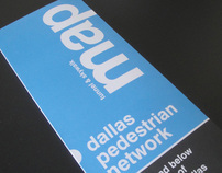 Map of the Dallas Pedestrian Network