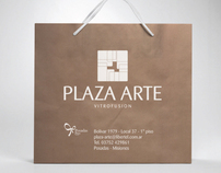 Corporate and Brand Identity PLAZA ARTE