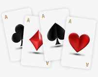 Playing Card Icons / Illustrator Mesh