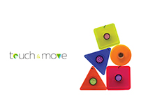 TOUCH AND MOVE, product design.