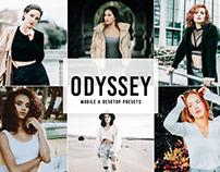 Free Odyssey Mobile & Desktop Lightroom Presets