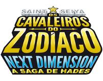 Logotipos para o mangá Cavaleiros do Zodíaco