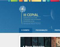 layout website Cepial