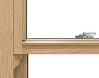 Timber windows and doors (product photography).