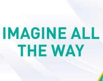 Imagine All The Way - Flight, Interactive banner idea