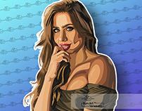 Juliana Gómez Vector Art