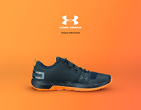Under Armour Launch - Amazon India