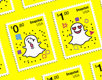 Snapchat — Stamp Collection