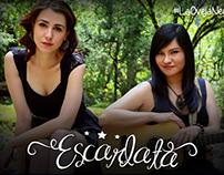 Publicidad del dueto ESCARLATA