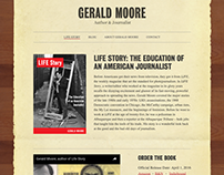 Gerald Moore — Identity and Website Design
