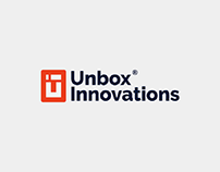Unbox Innovations - Logo design and Branding