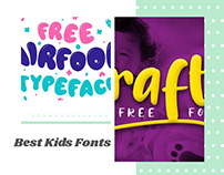 7 Best Free Kid Fonts 2020