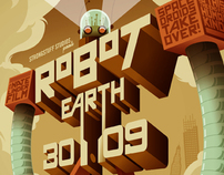 robot earth 3009 poster
