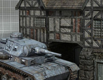 Gatehouse and Panza 3 Tank